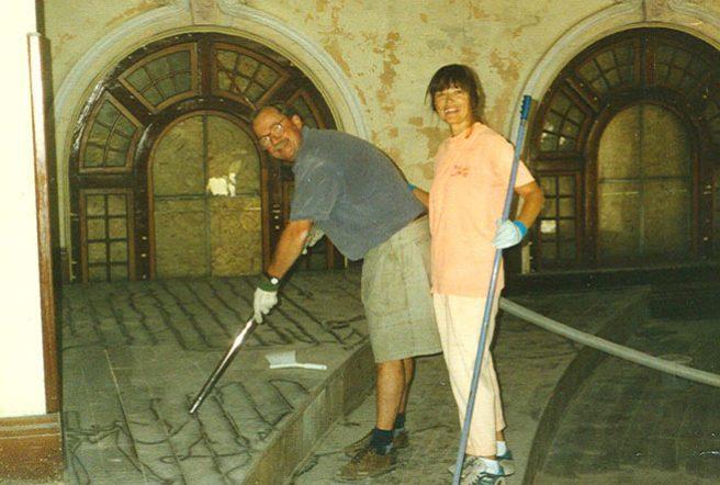 Restoring the Balcony
