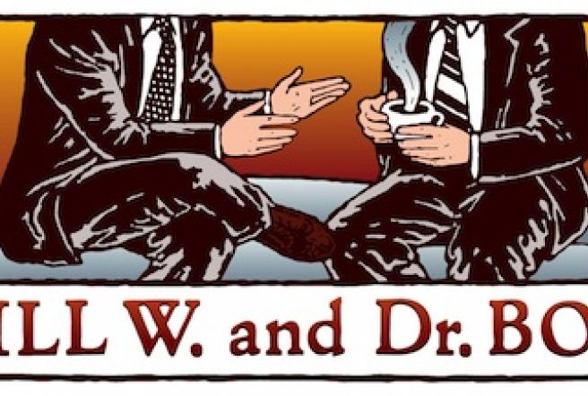 Official Artwork For Bill W And Dr  Bob Billwposter