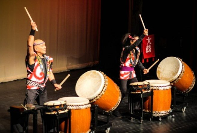 Taiko Drummers 2017 D