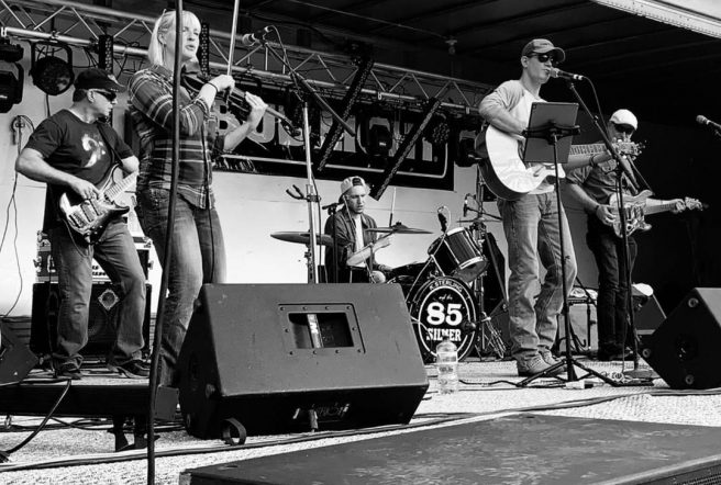K Sterling And The 85 Silver Band Live 1