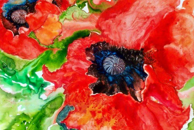 Tile Poppy100 1155